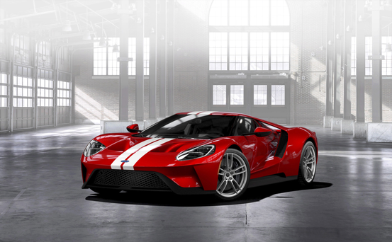 Ford's €350,000+ GT super-car