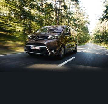 The Toyota PROACE