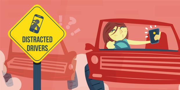 Highly distracted drivers