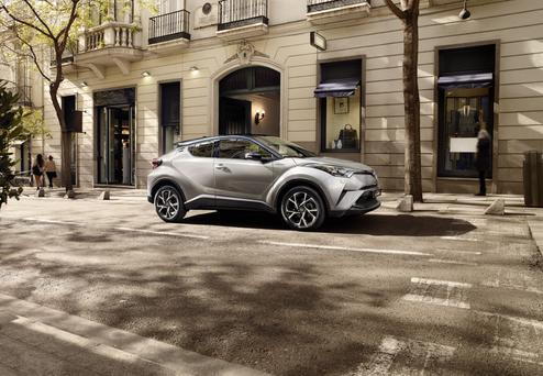 Toyota's compact C-HR