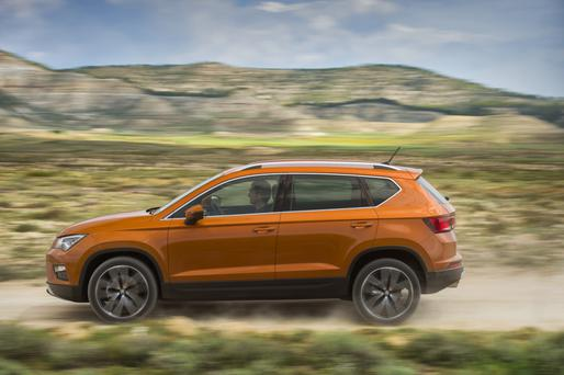The new Ateca crossover is set to go on sale here