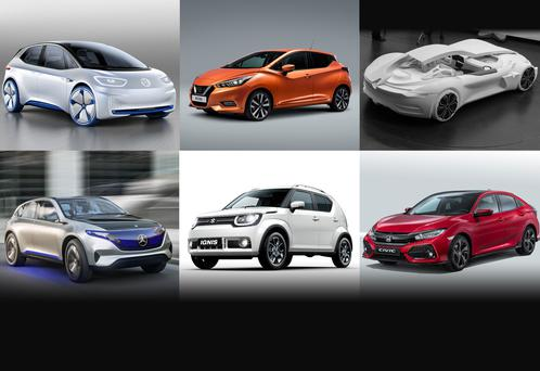 Eddie Cunningham has picked his top ten from the Paris Motor Show