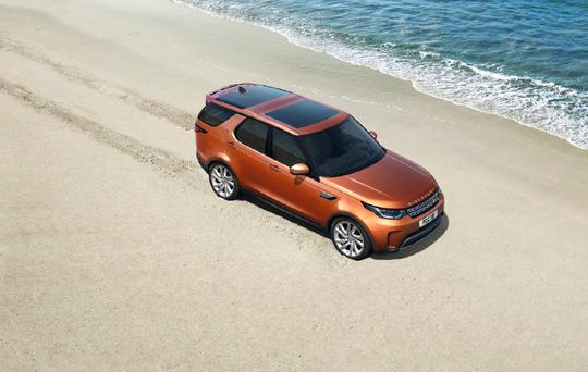 Land Rover's brand new Discovery SUV