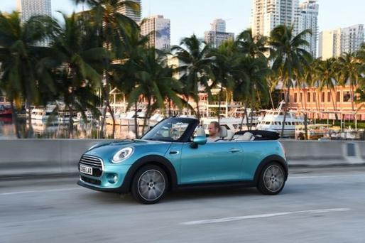 Hell of a drive: Mini Cooper Convertible