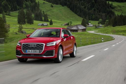 Baby crossover: the Audi Q2