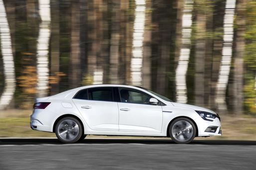 The new Renault Megane Grand Coupe