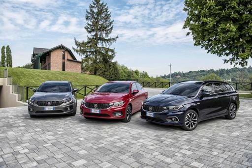 The new Fiat Tipo comes in three trim levels