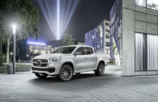 The Mercedes X Class