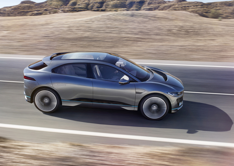 The I-Pace concept version