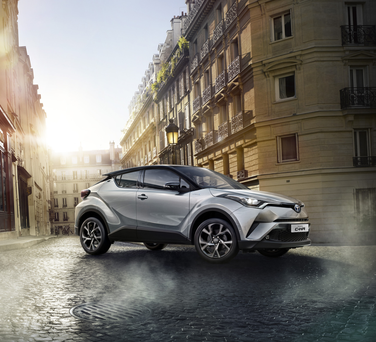 The new C-HR from Toyota