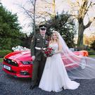 Peter and Sharon were married in Ballymagarvey Village, Co Meath last week and the happy couple jetted off for a Christmas honeymoon to Marbella
