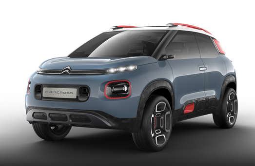Striking: The Citreon C-Aircross concept
