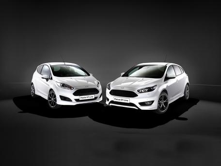 Ford Fiesta and Focus ST line