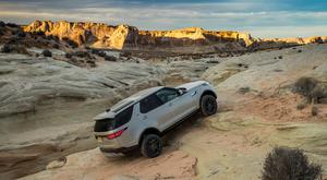 Land Rover Discovery: taking everything in its stride