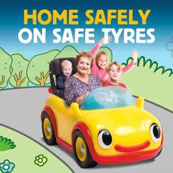 Not having proper tyres could put our children at risk