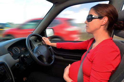 Law: Pregnant women have to wear a seatbelt