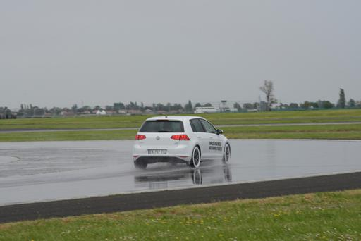 Testing the performance of tyres