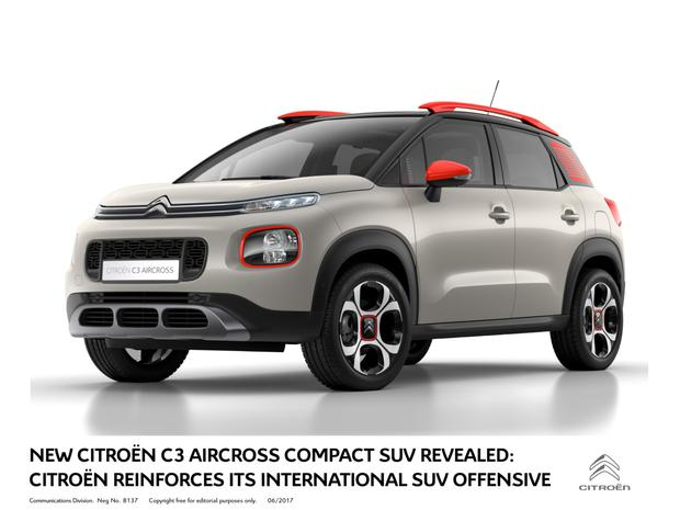 citroen take suv route with the new aircross. Black Bedroom Furniture Sets. Home Design Ideas