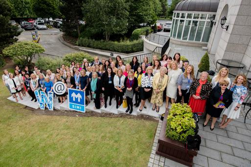 All in: a group shot of those at the Women@SIMI conference