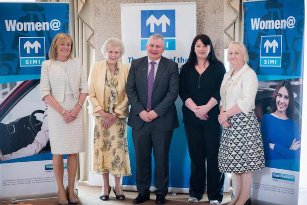 Guest speakers (l-r): Mary Kennedy MC, Anna May McHugh, Gavin Hydes, Michelle Spillane and Paula Fitzsimons