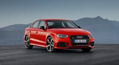 Audi RS3: On order from next month
