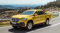 X-factor: the new Mercedes pick-up