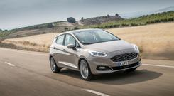 Moved upmarket: the new Ford Fiesta