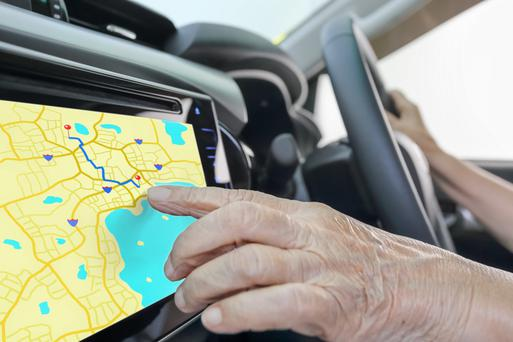 Car sat nav - nearly half of Irish drivers couldn't live without one