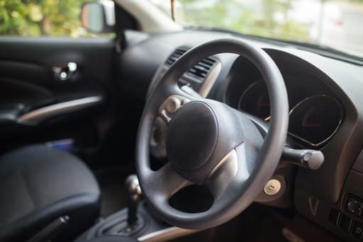 'Clean the dashboard, armrests and steering wheel with wipes' (stock photo)