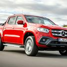 Mercedes X-Class pickup was unveiled here yesterday. It costs from €39,950 and is one of the many arrivals for the new 181-reg sale