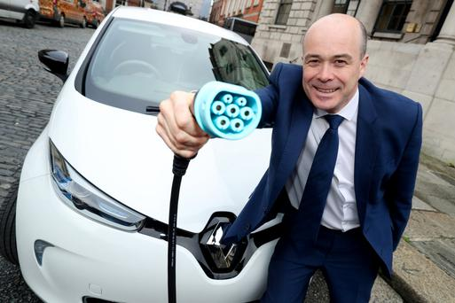 Denis Naughten TD, Minister for Communications, Climate Action and Environment