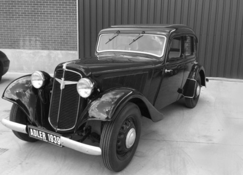The 1939 model Adler Trumpf