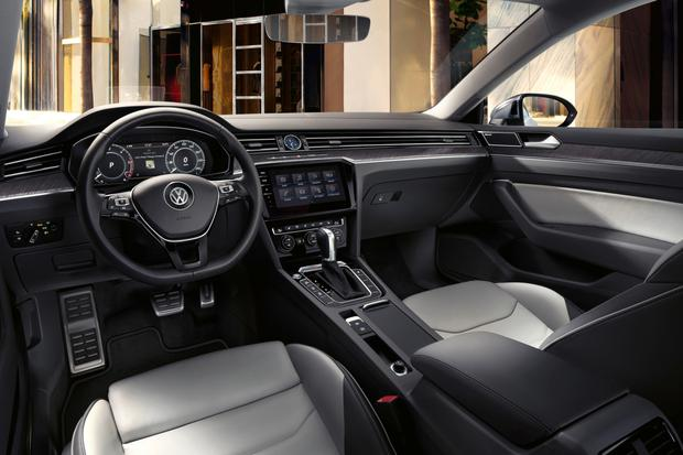 The interior of the VW Arteon