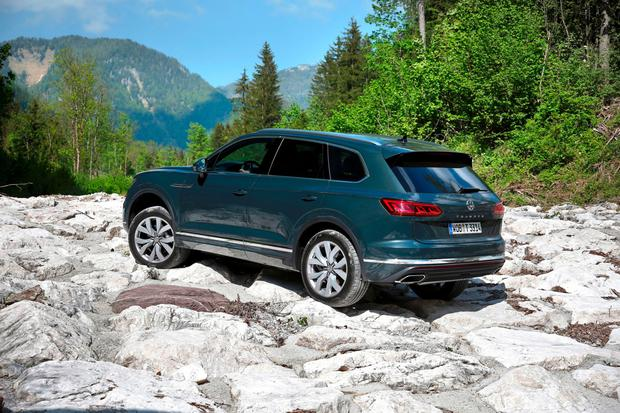 Here in June: VW Touareg