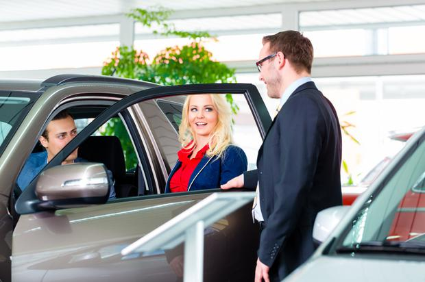 Seal the deal: But do your homework before you decide on how to finance your new car. Stock image
