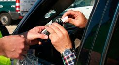 'Gardaí should breathalyse 20pc of drivers annually'