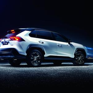 The new Toyota RAV4 hybrid is due in January and joins three other hybrids due early next year