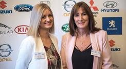 Helen Martin and Marie Higgins of Toyota Ireland