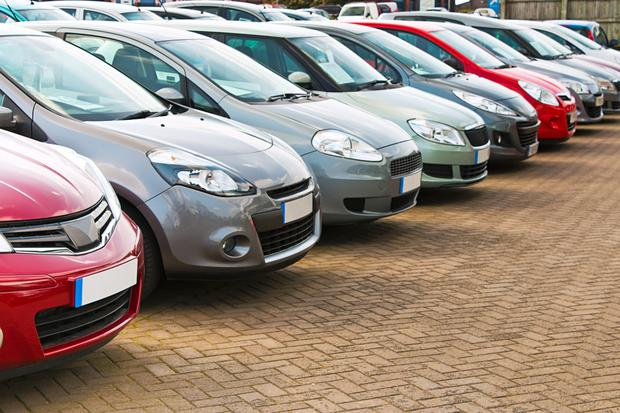 Used imports, the age of which is coming down