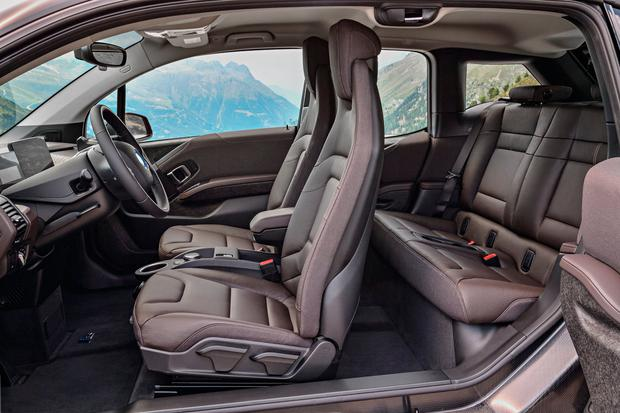 You will either love or hate the cabin of the interior of the BMW i3s