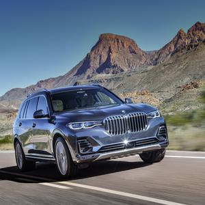 Space, drive and comfort: BMW X7
