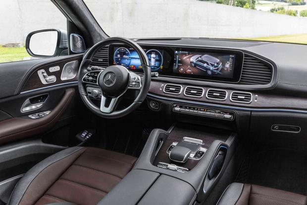Merc GLE: 'what a lovely front to a cabin'