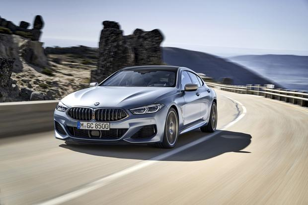 Prices for the BMW 8-Series Gran Coupe start at just over €104,060