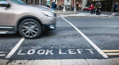 Danger: From Monday, all new electric vehicles must have a noise-emitting device to let other people know they are around, but what about cyclists and pedestrians who wouldn't hear a steam roller coming beacuse they are wearing headphones?