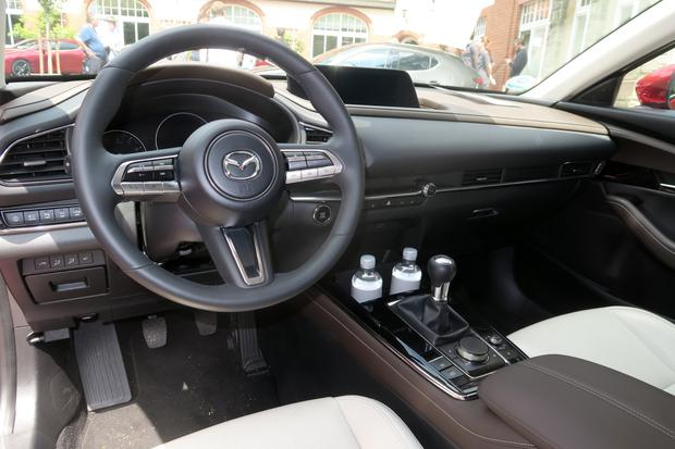 The interior of the Mazda CX-30