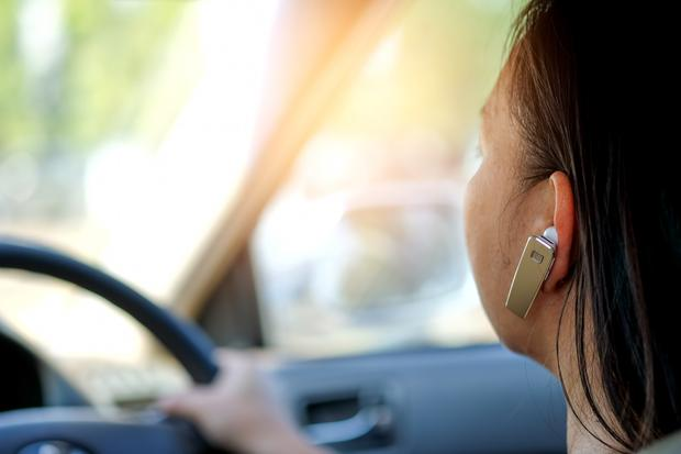 Research has shown that drivers using hands-free phones fail to notice hazards