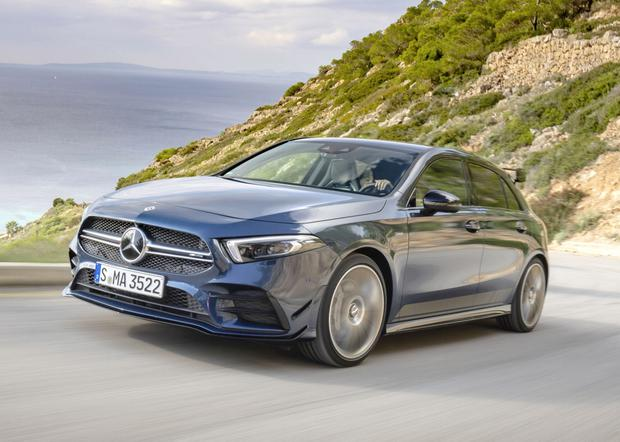 Power and poise: the new Mercedes AMG 35 performance hatchback