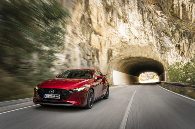 Technology breakthrough: The new Skyactiv-X boasts claims of 20pc improvement on fuel consumption with its revolutionary engine that combines the best of petrol and diesel