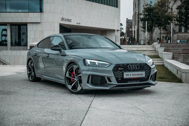 Poise and power: Audi's exotic RS5 has serious power, a smart cabin and subtle lines of design