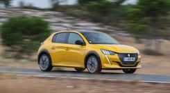 Up and running: New Peugeot 208 has three power sources: petrol, diesel and electric.